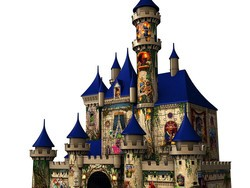Take the magic home with you with this $27 Ravensburger Disney Castle 3D Puzzle