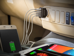 Don't drive off without this 4-port QC 3.0 car charger on sale for $14