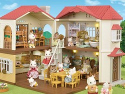 Add the Calico Critters Red Roof Country Home Gift Set to the toybox for $57