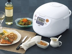 The $110 Zojirushi Micom Rice Cooker and Warmer will elevate your cooking