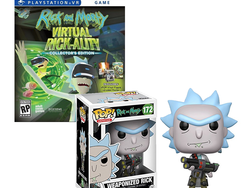 The Collector's Edition of Rick & Morty: Virtual Rick-ality for PlayStation 4 is down to $23
