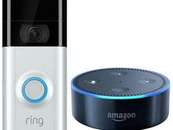 With this Ring Video Doorbell 2 and Echo Dot bundle you're basically getting the Dot for free