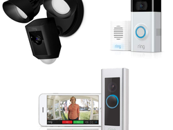 Save up to £65 on select Ring Video Doorbells and Floodlight Cams