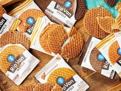 Stock up on your favorites with a discounted 48-pack of Rip Van Wafel snacks