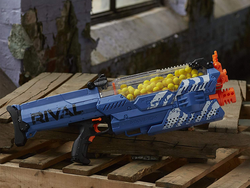 Take over the neighborhood with Nerf's fully-motorized Rival Nemesis MXVII-10K for $60