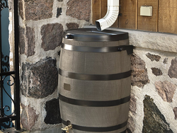 Add this 50-gallon Rain Water Collection Barrel outside your home for only $88