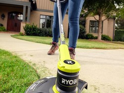 Score almost 40% off the 18-Volt Ryobi Cordless String Trimmer today