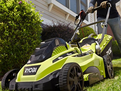 Have the best-looking yard on the block with help from Ryobi's $99 electric push mower