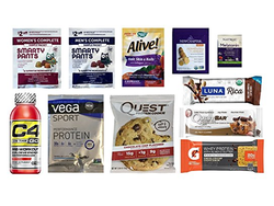 This $7 Nutrition & Wellness Sample Box comes with a $7 Amazon credit