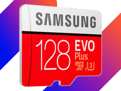 Store up to 128GB on this $40 Samsung EVO Plus microSDXC card