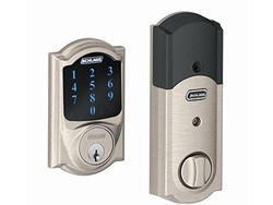 The Schlage Z-Wave Connect Camelot touchscreen deadbolt is only $134