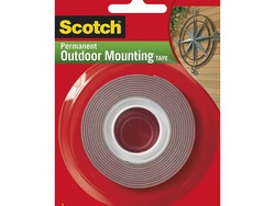 Get a 60-inch roll of 3M Scotch Outdoor Mounting tape for $3