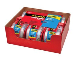 Get ship done with 6 rolls of Scotch heavy-duty shipping tape for $10
