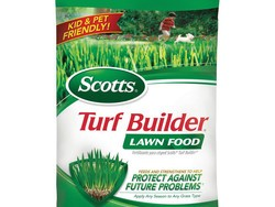 Feed your lawn with Scotts Turf Builder bags for $10