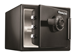 Keep valuables safe from fire, water, and thieves with SentrySafe's $148 Combination Safe
