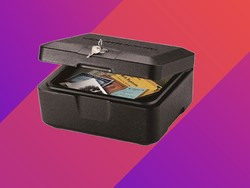 Grab the $17 SentrySafe Fire Resistant Chest and keep your important documents secure