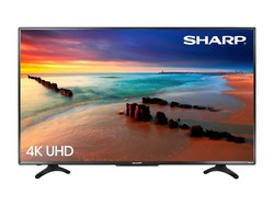 You can score $100 off this Sharp 50-inch 4K Smart UHD Roku TV right now