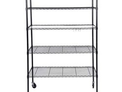 These wire shelves are at least 20% off today and perfect for storing off-season items