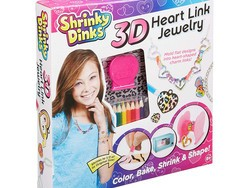 Throw it back by adding this Shrinky Dinks Heart Link Jewelry Kit to your Amazon order for $4
