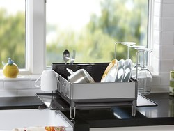 This discounted simplehuman Dish Rack will beautify your kitchen