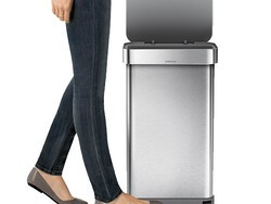 Grab Simplehuman Semi-Round Step Trash Cans from $24 and more
