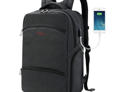 Travel wisely with this $14 water-resistant laptop backpack