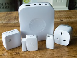 Start with the $50 SmartThings hub and expand your smart home