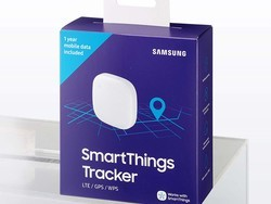 Samsung's $72 SmartThings Tracker has an LTE connection so you can always find your gear