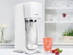 Time to make some flavored bubbly water with the $47 SodaStream Source