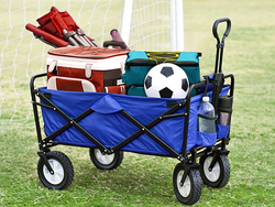 Easily carry all of your equipment with Mac Sports' $90 Collapsible Utility Wagon