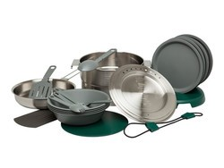 Take this four-person Stanley Base Camp Cook Set with you for $60