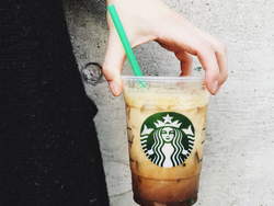 Warm up with 50% off Starbucks Espresso drinks in-store today only