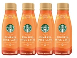 Save on your favorite fall flavors with 8 Starbucks Iced Pumpkin Spice Latte drinks for $10