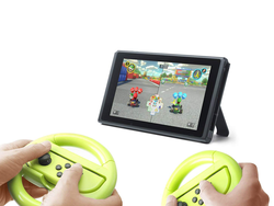 Race to first place with this $5 two-pack of Nintendo Switch steering wheels