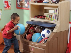 This $78 Step2 Lift and Hide storage chest will keep your kid's bedroom floor clean
