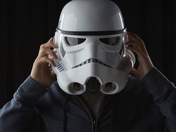 Get yourself a Star Wars: The Black Series Imperial Stormtrooper Voice-Changing Helmet for $63
