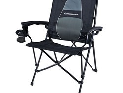 This $75 Strongback Elite Folding Camping Chair will support you (and your beer!)