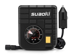 This $10 Suaoki 12V Portable Mini Air Compressor will keep your inflatable stuff inflated