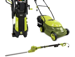 Save big on select Sun Joe outdoor power tools at Home Depot today only