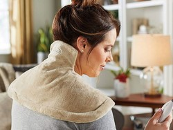 Undo the havoc of terrible posture with the $30 Sunbeam Renue heating wrap