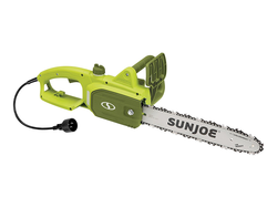 Cut through tree limbs and brush with the Sun Joe's $34 Electric Handheld Chainsaw