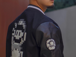This awesome Super Mario World baseball jacket is only £28 while supplies last