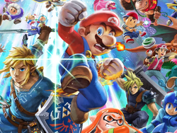 Pick up Super Smash Bros Ultimate for Nintendo Switch on sale with a $10 pre-order credit