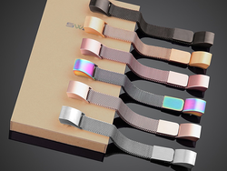 Refit your Fitbit Alta or Alta HR with a stylish Milanese Stainless Steel band from $4