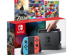 Start your holiday shopping with a discounted Nintendo Switch bundle