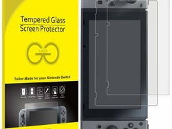 Protect your Nintendo Switch from scratches with this $8 JETech screen protector 2-pack