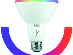 Add more color to your home with the $21 Sylvania Smart+ LED bulb