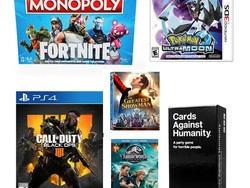Target has buy 2, get 1 free video games, movies, board games, and kids' books