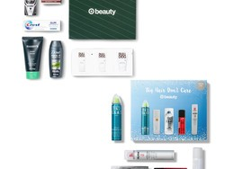 Target's $7 December Beauty Boxes make great stocking stuffers for guys and gals