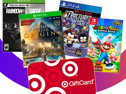 Get a $50 Target gift card when you buy two select video games
